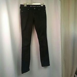 Guess Jeans Eva Skinny, in Black, 26